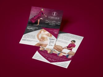 Flyer   A5   aesthetic medicine clinic by imaginaryuser