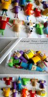 Katamari Felties by whitefrosty