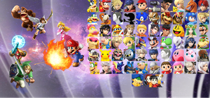 Super Smash Bros. 4 Wallpaper by Galaxy-Afro