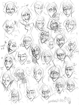 Expression Practice 2 by kerenitychan