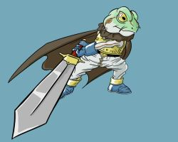 Chrono Trigger - Frog by Agares20