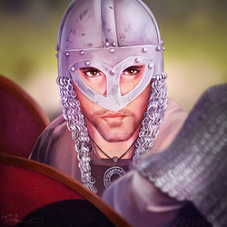 Viking Portrait by posteyam