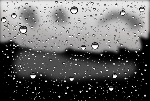 Rain drops by rockraikar