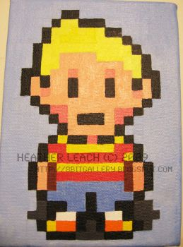 Mother 3 Lucas by 8bitgallery