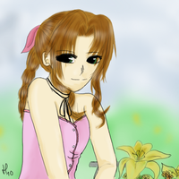 Request Aerith by Kaiserglanz