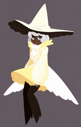 swan witch by mintycanoodles