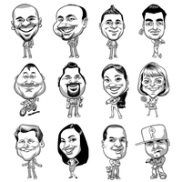 caricatures 005 by hamdiggy