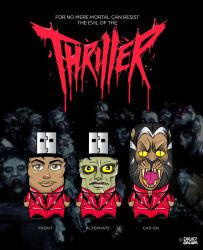 Thriller USB by daveauchery