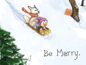 Be Merry by kGoggles