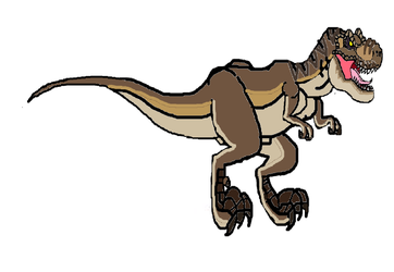 Female T-rex by masonthetrex