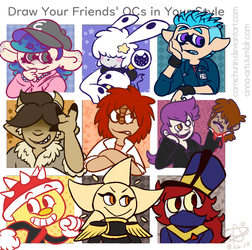OCs in Your Style 2 by Camichuriin