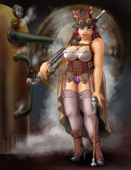Didi-Steampunked by FaBeArt