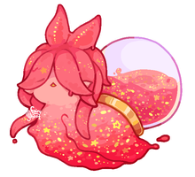 Pink Glitter Slime by fairy-ghost
