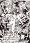 Richter Belmont and succubi by Candra