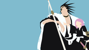 Kenpachi and Yachiru from Bleach | Minimalist by matsumayu