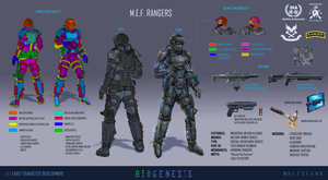 INA Military Expeditionary Forces Rangers by WH1T3F4N6