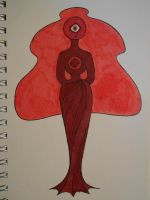 Old Red Diamond by DragonMaster59