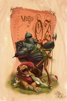 Mago de Oz_Wizard of Oz by Giacobino