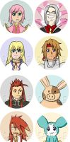 Tales of Buttons set 4 by whoatheresara