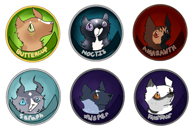Tracker Badge Collection by AzureSylveon