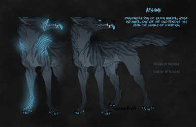 Adoptable - Aeshma Closed by Anipurk