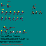 Sprite Tony and Nova by shinkenmaster