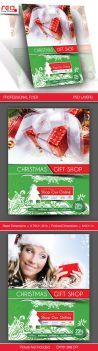 Gift Shop Flyer Poster Template - 3 by Redshinestudio