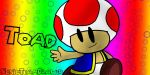 Super Mario - Toad by SonicTeamDrawer