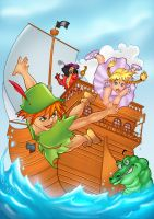 Peter Pan by boysoltero