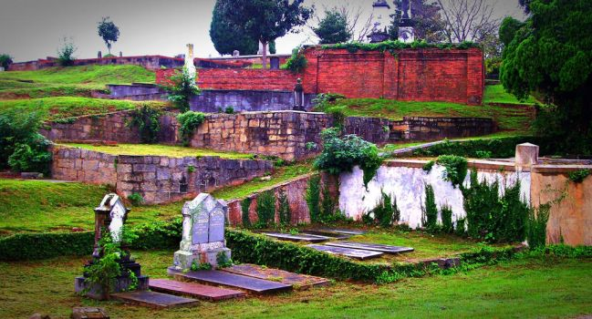 Rose Hill Cemetery II by Calypso1977