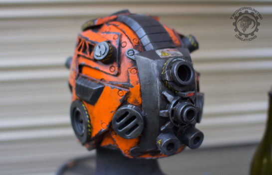 The Nexialist MkIV helmet back (98% done) by TwoHornsUnited