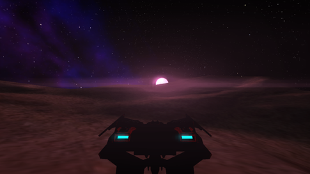 Space Project Screenshot by elsinrostro