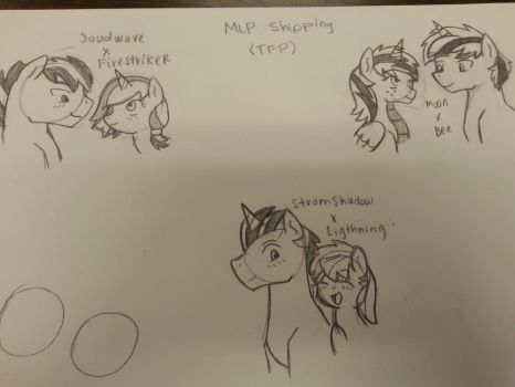 Ponyformers Shipping (TFP) WIP by NightShade2K16