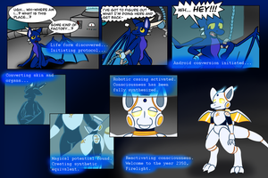 Firelight 2350: A Cybernetic Transformation by Ryusuta