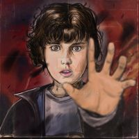 Eleven (Millie Bobby Brown) Stranger Things by thonykrebs