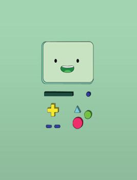 BMO IPhone Wallpaper 2. by FlorchuuGomezBieber