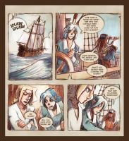 Webcomic - TPB - The Slave Ship - Page 1 by Dedasaur