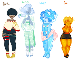 Elemental Adopts [CLOSED] by Death2Eden