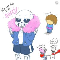 Who say i am? - undertale sans by janis-roxas