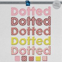 Styles: Dotted by HGGraphicDesigns