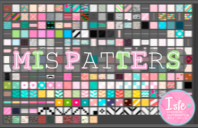 Todos mis patterns/motivos by Isfe