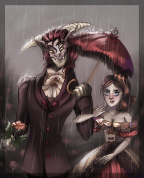 Beauty and the beast by Uruseline