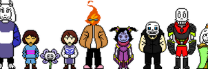 Some of the Underturn cast by flambeworm370