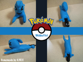 Wobbuffet Plush by K3RI1