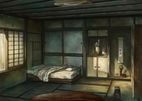an old japanese private house by Satoshi-Takahara