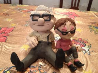Carl and Ellie from Up by kamelotd13