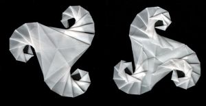 origami triskell by enricap