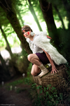 Listen to the forest. Mononoke Hime cosplay. by Giuzzys