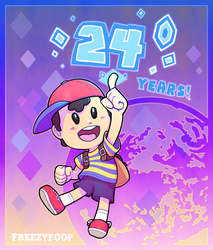 Earthbound's 24th by Foop-McFawn