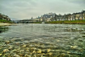 River Salzach by Burtn